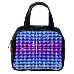 Rainbow of Colors, Bling and Glitter Single-sided Satchel Handbag