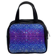 Rainbow of Colors, Bling and Glitter Twin-sided Satched Handbag