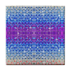 Rainbow of Colors, Bling and Glitter Face Towel