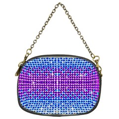 Rainbow Of Colors, Bling And Glitter Twin Sided Evening Purse