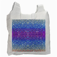 Rainbow of Colors, Bling and Glitter Single-sided Reusable Shopping Bag