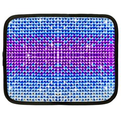 Rainbow Of Colors, Bling And Glitter 13  Netbook Case