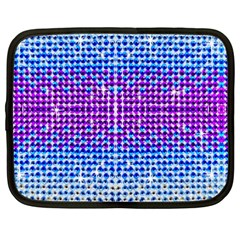 Rainbow Of Colors, Bling And Glitter 15  Netbook Case