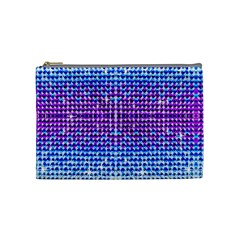 Rainbow of Colors, Bling and Glitter Medium Makeup Purse