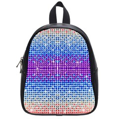 Rainbow of Colors, Bling and Glitter Small School Backpack