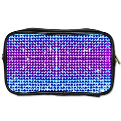 Rainbow Of Colors, Bling And Glitter Twin Sided Personal Care Bag