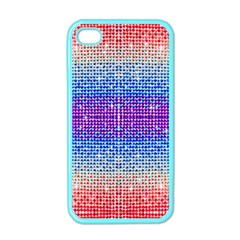 Rainbow of Colors, Bling and Glitter Apple iPhone 4 Case (Color)