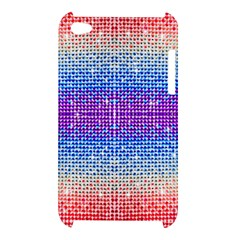 Rainbow of Colors, Bling and Glitter Apple iPod Touch 4G Hardshell Case