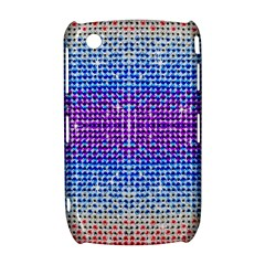 Rainbow of Colors, Bling and Glitter BlackBerry Curve 8520 9300 Hardshell Case
