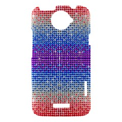 Rainbow of Colors, Bling and Glitter HTC One X Hardshell Case