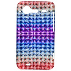 Rainbow of Colors, Bling and Glitter HTC Incredible S Hardshell Case