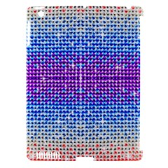 Rainbow of Colors, Bling and Glitter Apple iPad 3/4 Hardshell Case (Compatible with Smart Cover)