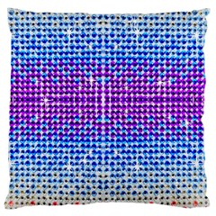 Rainbow Of Colors, Bling And Glitter Large Cushion Case (two Sides)