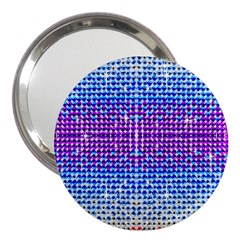 Rainbow of Colors, Bling and Glitter 3  Handbag Mirror