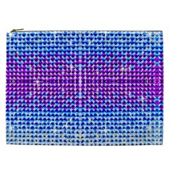 Rainbow of Colors, Bling and Glitter Cosmetic Bag (XXL)