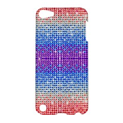 Rainbow Of Colors, Bling And Glitter Apple Ipod Touch 5 Hardshell Case