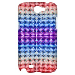 Rainbow of Colors, Bling and Glitter Samsung Galaxy Note 2 Hardshell Case