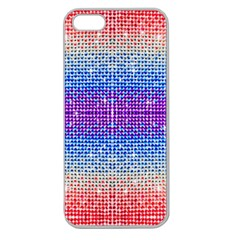 Rainbow Of Colors, Bling And Glitter Apple Seamless Iphone 5 Case (clear)