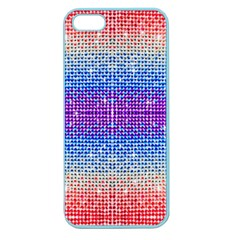 Rainbow of Colors, Bling and Glitter Apple Seamless iPhone 5 Case (Color)