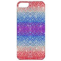 Rainbow of Colors, Bling and Glitter Apple iPhone 5 Classic Hardshell Case