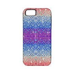 Rainbow of Colors, Bling and Glitter Apple iPhone 5 Classic Hardshell Case (PC+Silicone)
