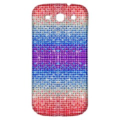 Rainbow Of Colors, Bling And Glitter Samsung Galaxy S3 S Iii Classic Hardshell Back Case
