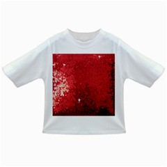 Sequin and Glitter Red Bling Baby T-shirt
