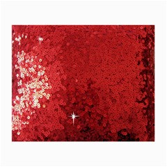 Sequin and Glitter Red Bling Glasses Cleaning Cloth