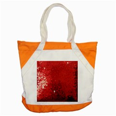 Sequin and Glitter Red Bling Snap Tote Bag