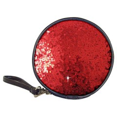 Sequin And Glitter Red Bling Cd Wallet