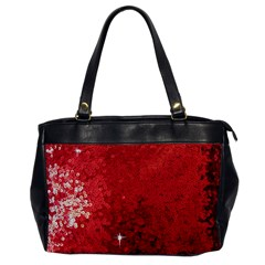 Sequin and Glitter Red Bling Single-sided Oversized Handbag