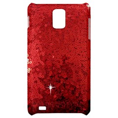 Sequin and Glitter Red Bling Samsung Infuse 4G Hardshell Case