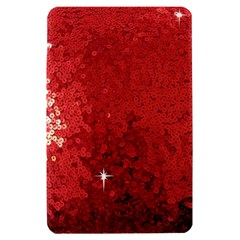 Sequin and Glitter Red Bling Kindle Fire Hardshell Case
