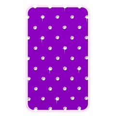 Royal Purple and Silver Bead Bling Card Reader (Rectangle)