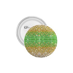 Diamond Cluster Color Bling Small Button (Round)
