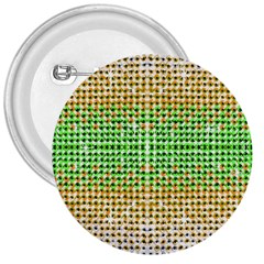 Diamond Cluster Color Bling Large Button (Round)
