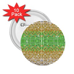 Diamond Cluster Color Bling 10 Pack Regular Button (round)