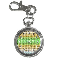 Diamond Cluster Color Bling Key Chain & Watch