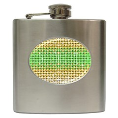 Diamond Cluster Color Bling Hip Flask