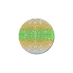 Diamond Cluster Color Bling Golf Ball Marker