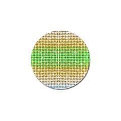 Diamond Cluster Color Bling 10 Pack Golf Ball Marker