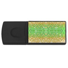 Diamond Cluster Color Bling 4Gb USB Flash Drive (Rectangle)