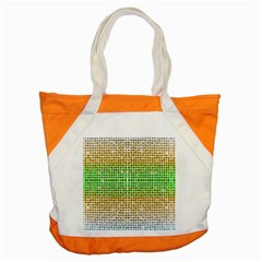 Diamond Cluster Color Bling Snap Tote Bag