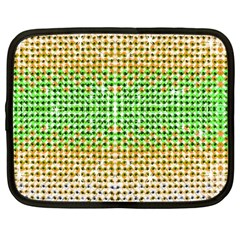 Diamond Cluster Color Bling 12  Netbook Case