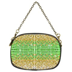 Diamond Cluster Color Bling Single-sided Evening Purse