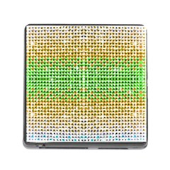 Diamond Cluster Color Bling Card Reader with Storage (Square)