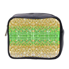 Diamond Cluster Color Bling Twin Sided Cosmetic Case