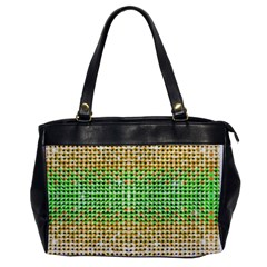 Diamond Cluster Color Bling Single-sided Oversized Handbag