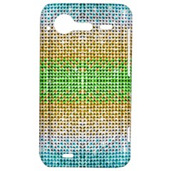 Diamond Cluster Color Bling HTC Incredible S Hardshell Case