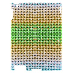 Diamond Cluster Color Bling Apple iPad 2 Hardshell Case